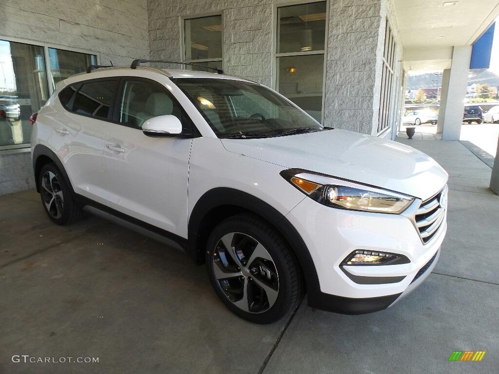 2017 Dazzling White Hyundai Tucson Sport Awd 116993032 Car Color Galleries