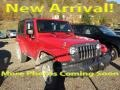2014 Flame Red Jeep Wrangler Sport 4x4 #116993164
