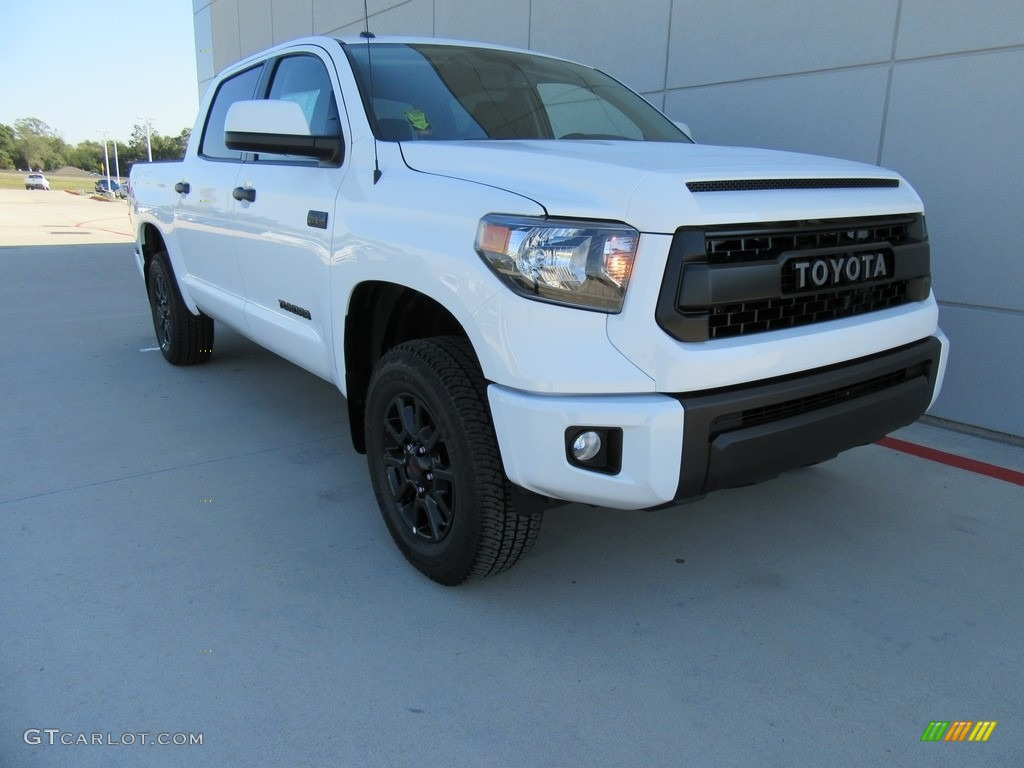 2017 super white toyota tundra trd pro double cab 4x4 116993131 car color. Black Bedroom Furniture Sets. Home Design Ideas