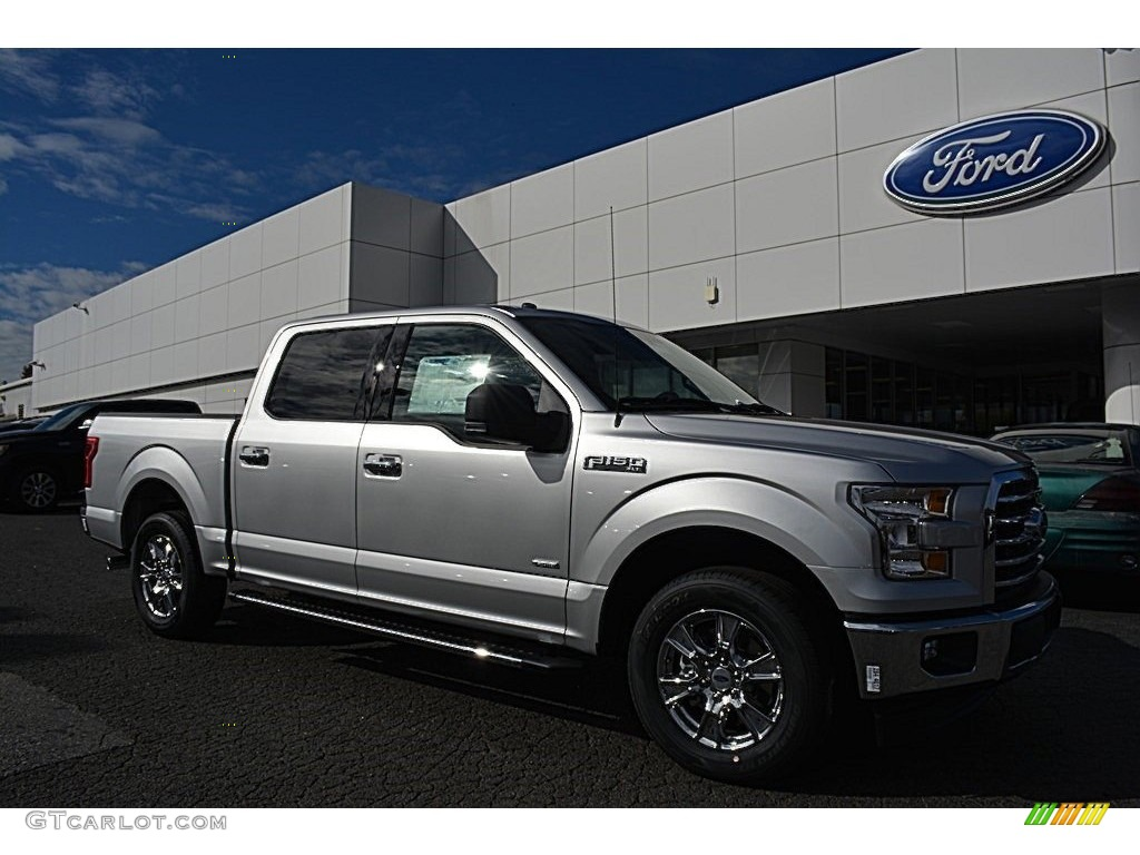 2017 ingot silver ford f150 xlt supercrew 116993079. Black Bedroom Furniture Sets. Home Design Ideas