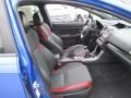 Carbon Black Front Seat Photo for 2015 Subaru WRX #117010364