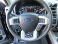 2017 Ford F250 Super Duty Black Interior Steering Wheel Photo