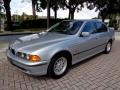Arctic Silver Metallic 1998 BMW 5 Series 528i Sedan