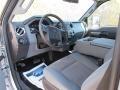 2012 Ingot Silver Metallic Ford F250 Super Duty XLT Crew Cab 4x4  photo #29