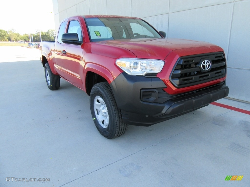 2017 barcelona red metallic toyota tacoma sr double cab. Black Bedroom Furniture Sets. Home Design Ideas