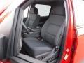 Jet Black Front Seat Photo for 2017 Chevrolet Silverado 1500 #117036191