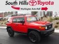 Radiant Red 2012 Toyota FJ Cruiser Trail Teams Special Edition 4WD