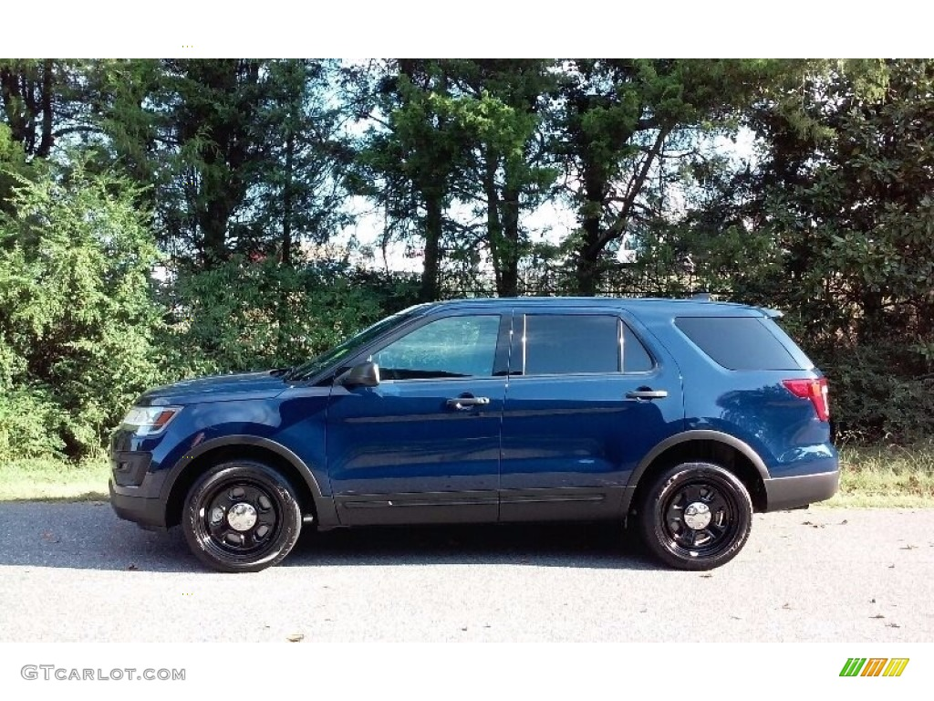 2016 Explorer Police Interceptor 4WD - Royal Blue / Ebony Black photo #1