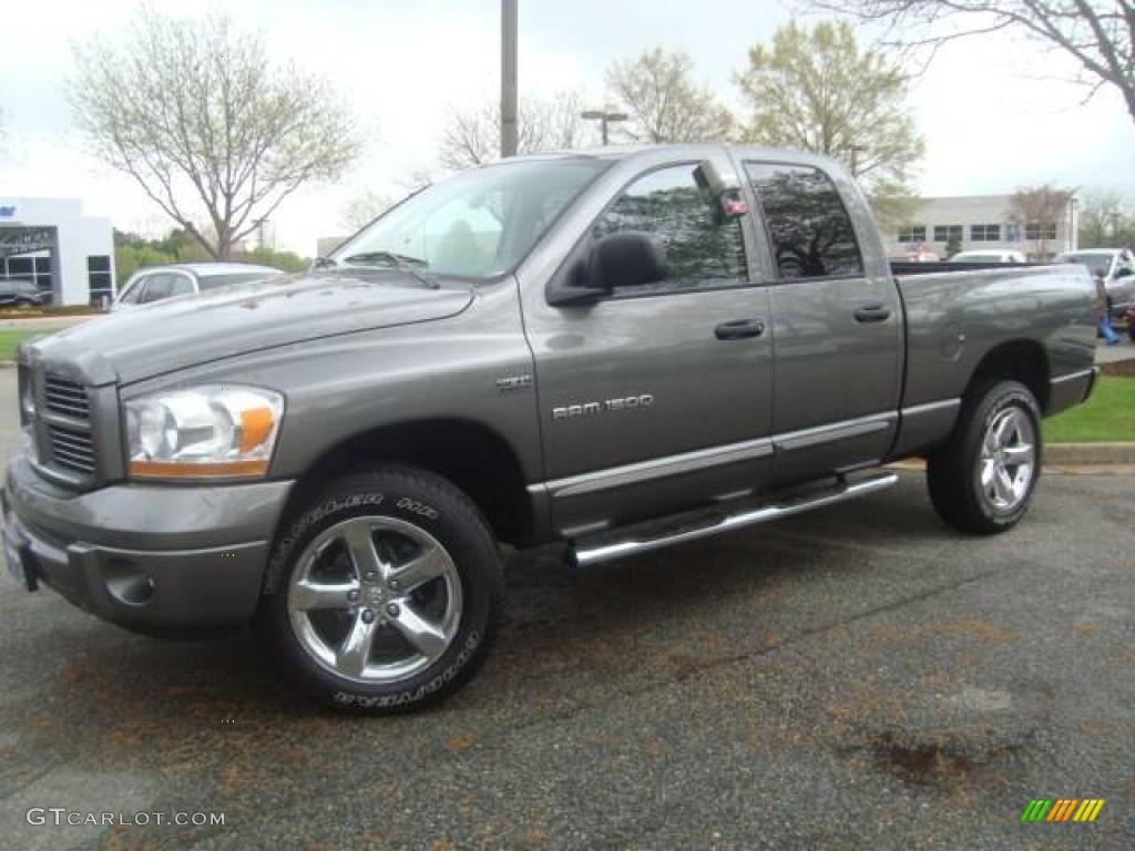 2006 mineral gray metallic dodge ram 1500 sport quad cab 4x4 11659599 photo 2. Black Bedroom Furniture Sets. Home Design Ideas