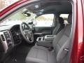 Jet Black Interior Photo for 2017 Chevrolet Silverado 1500 #117050609