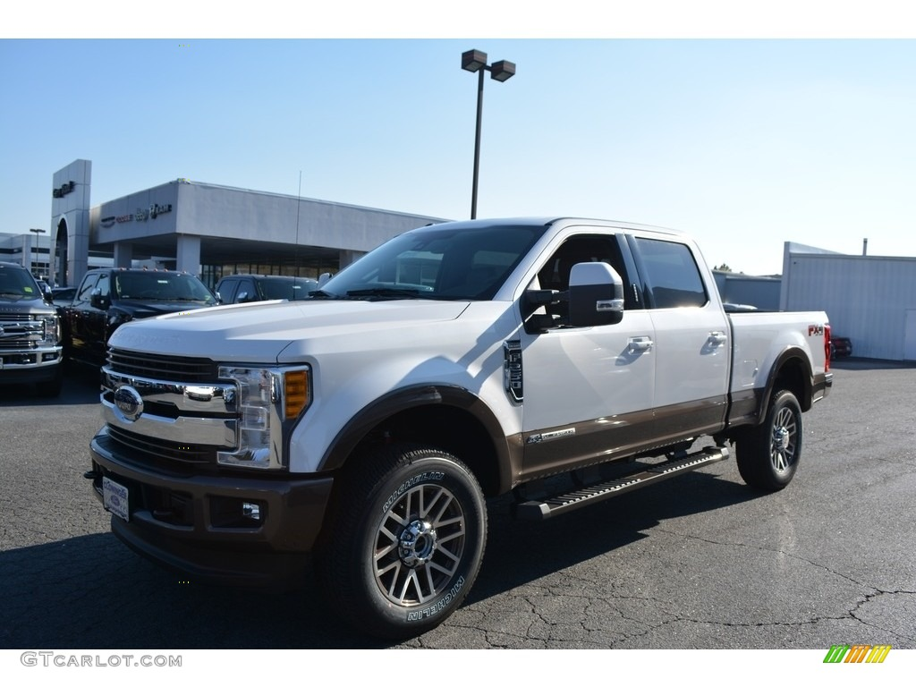 2017 white platinum ford f250 super duty king ranch crew cab 4x4 117041629 photo 3 gtcarlot. Black Bedroom Furniture Sets. Home Design Ideas
