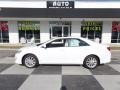 Super White 2014 Toyota Camry XLE