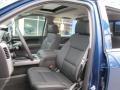 Jet Black Front Seat Photo for 2017 Chevrolet Silverado 1500 #117059840