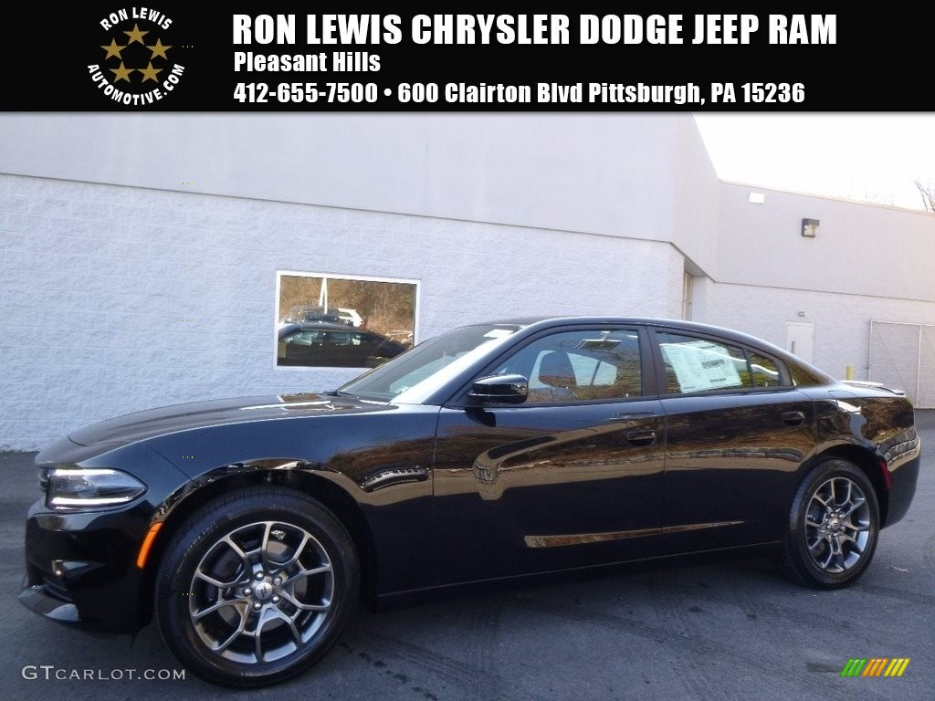 2017 Pitch-Black Dodge Charger SXT AWD #117062934 ...