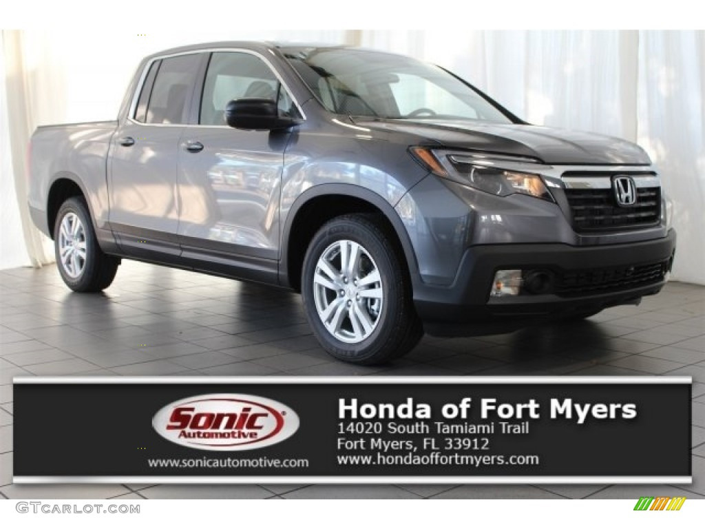 2017 Modern Steel Metallic Honda Ridgeline Rt 117062706 Car Color Galleries