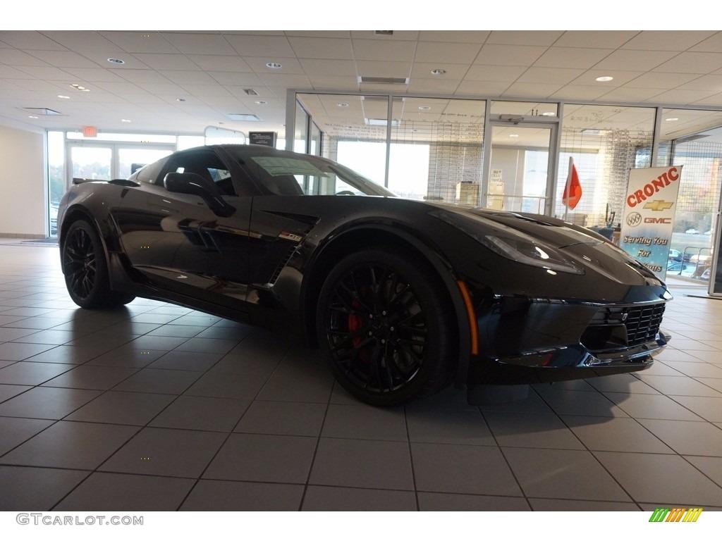 2017 Black Chevrolet Corvette Z06 Coupe #117091355 ...