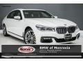 Mineral White Metallic 2017 BMW 7 Series 750i xDrive Sedan