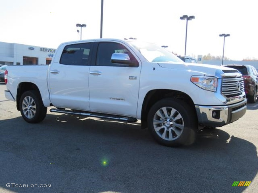 2017 super white toyota tundra limited crewmax 4x4 117131511 photo 11 car. Black Bedroom Furniture Sets. Home Design Ideas