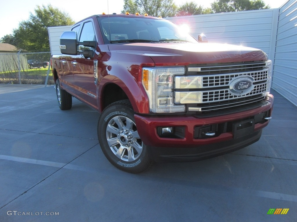 Race Red Ford F250 Super Duty