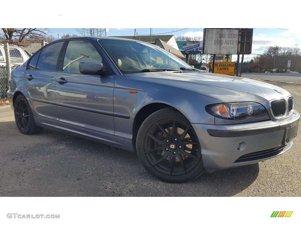 2004 Steel Blue Metallic BMW 3 Series 325i Sedan 117153682