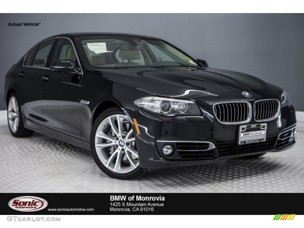 2016 black sapphire metallic bmw 5 series 535i xdrive. Black Bedroom Furniture Sets. Home Design Ideas