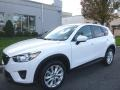 2014 Crystal White Pearl Mica Mazda CX-5 Grand Touring AWD #117153937