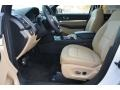 Medium Light Camel 2017 Ford Explorer FWD Interior Color