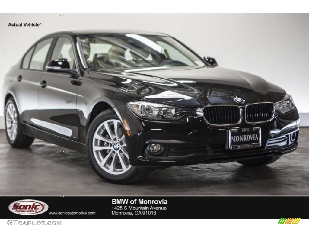 2017 jet black bmw 3 series 320i sedan 117178179 car color galleries. Black Bedroom Furniture Sets. Home Design Ideas