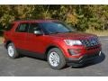 Ruby Red 2017 Ford Explorer FWD Exterior