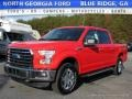 2016 Race Red Ford F150 XLT SuperCrew 4x4  photo #1