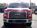2016 Race Red Ford F150 XLT SuperCrew 4x4  photo #8