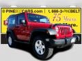 2014 Flame Red Jeep Wrangler Sport 4x4 #117178012