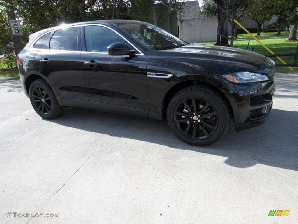 2017 ultimate black jaguar f pace 20d awd prestige. Black Bedroom Furniture Sets. Home Design Ideas