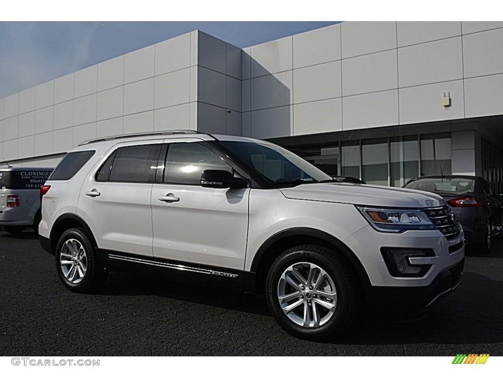 2017 white platinum ford explorer xlt 117178113 photo 14 car color galleries. Black Bedroom Furniture Sets. Home Design Ideas