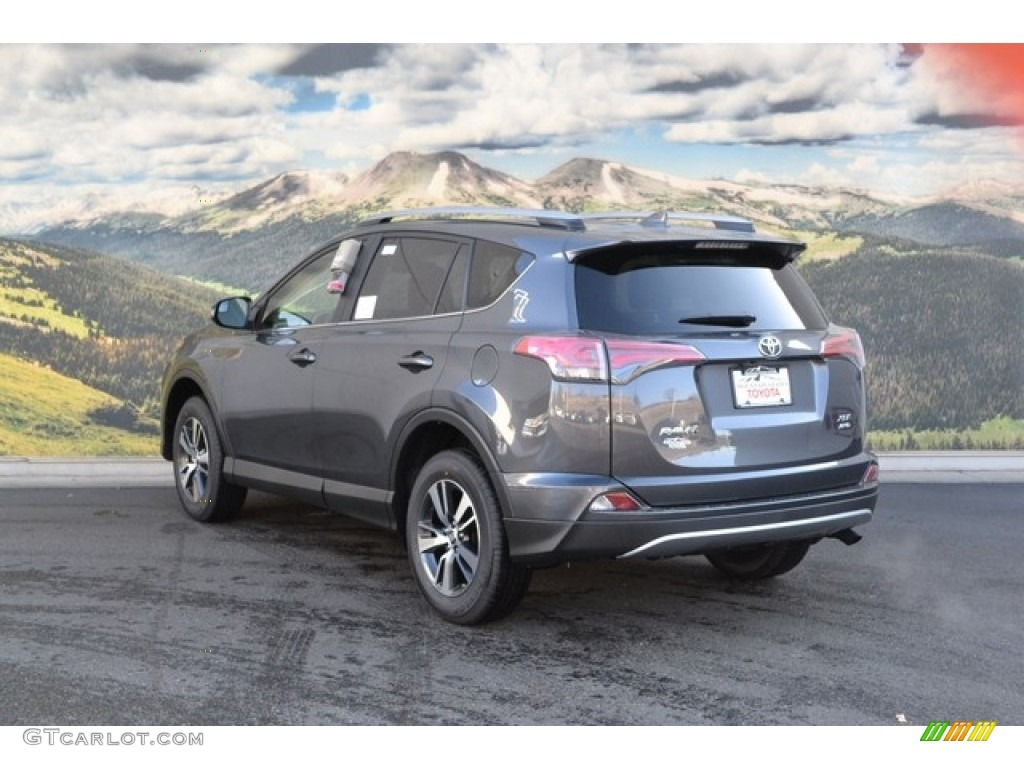 2017 magnetic gray metallic toyota rav4 xle awd 117204402 photo 3 car color. Black Bedroom Furniture Sets. Home Design Ideas