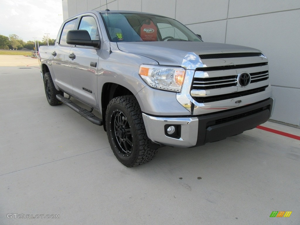 2017 silver sky metallic toyota tundra sr5 crewmax 4x4 117204487 car color. Black Bedroom Furniture Sets. Home Design Ideas