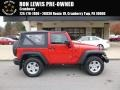 2014 Flame Red Jeep Wrangler Sport 4x4 #117228107