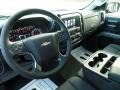 Jet Black Dashboard Photo for 2017 Chevrolet Silverado 1500 #117231793