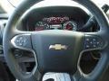 Jet Black Steering Wheel Photo for 2017 Chevrolet Silverado 1500 #117231850