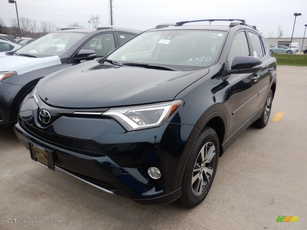 2017 galactic aqua mica toyota rav4 xle awd 117228255 car color galleries. Black Bedroom Furniture Sets. Home Design Ideas