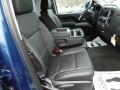 Jet Black Interior Photo for 2017 Chevrolet Silverado 1500 #117255304