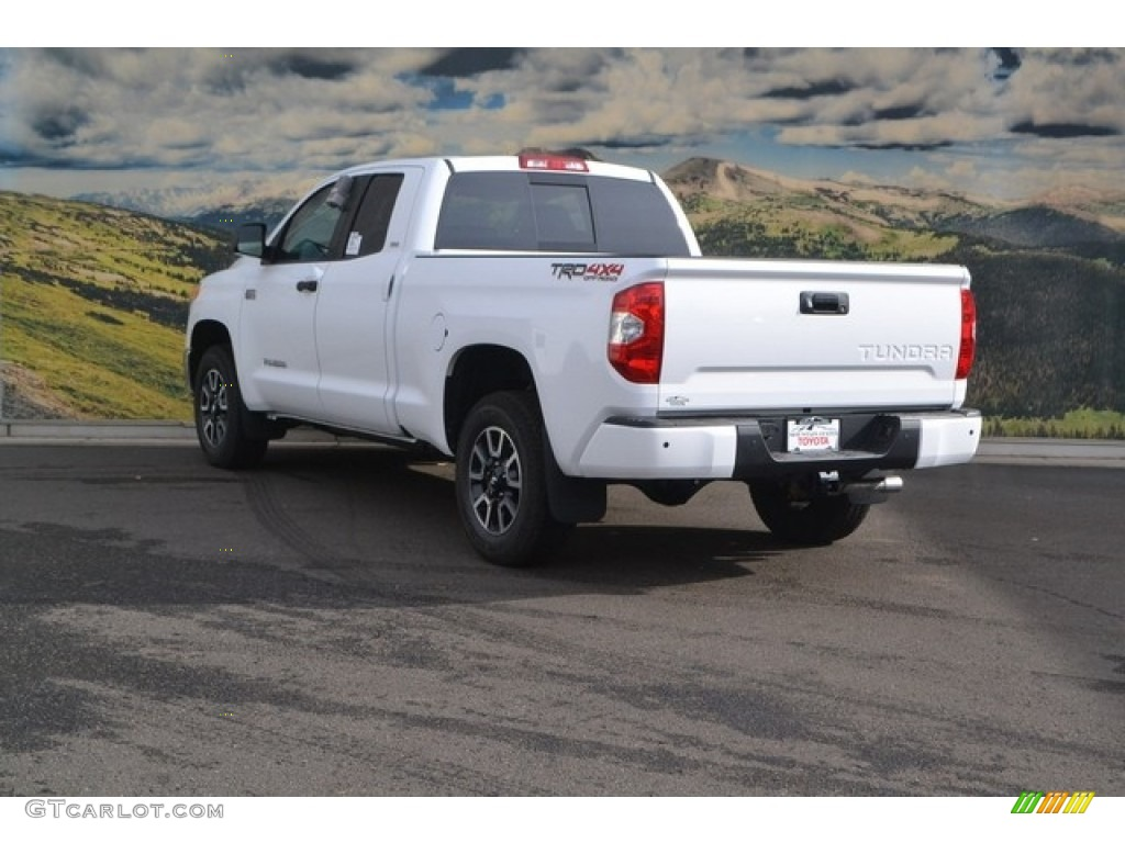 2017 super white toyota tundra sr5 double cab 4x4 117265385 photo 3 car color. Black Bedroom Furniture Sets. Home Design Ideas