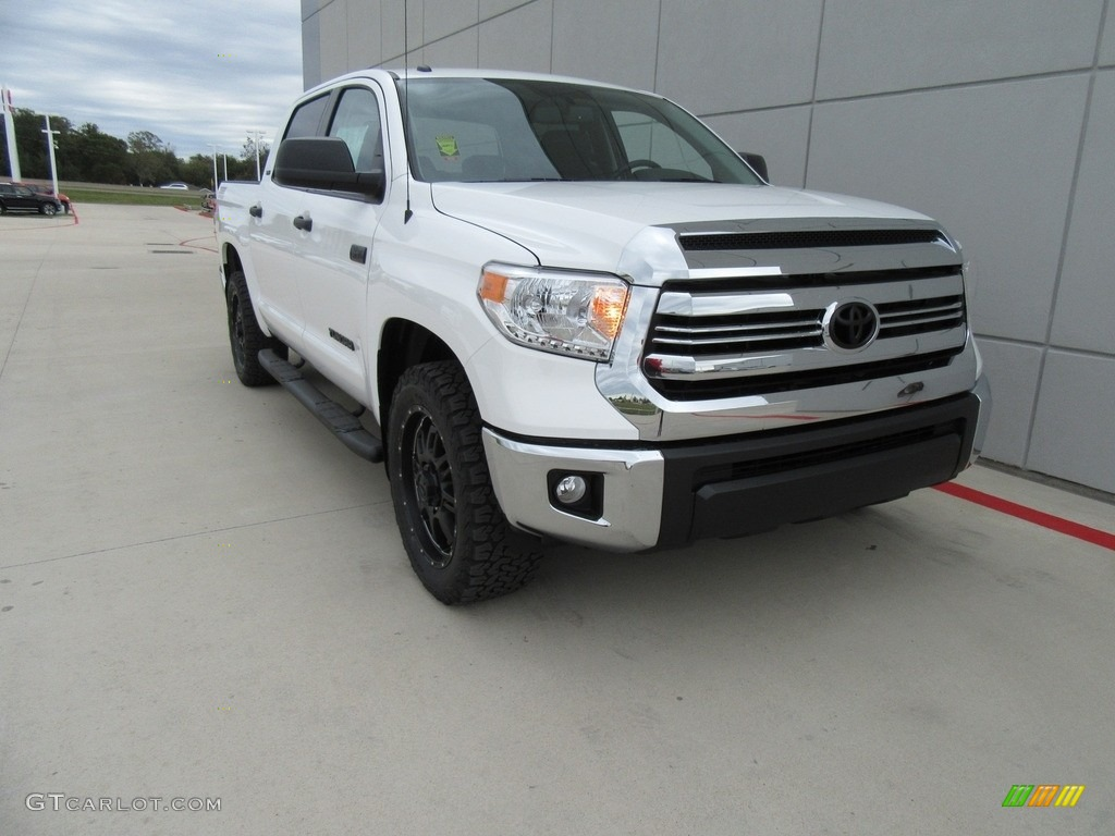 2017 super white toyota tundra sr5 crewmax 4x4 117265536 photo 15 car color. Black Bedroom Furniture Sets. Home Design Ideas