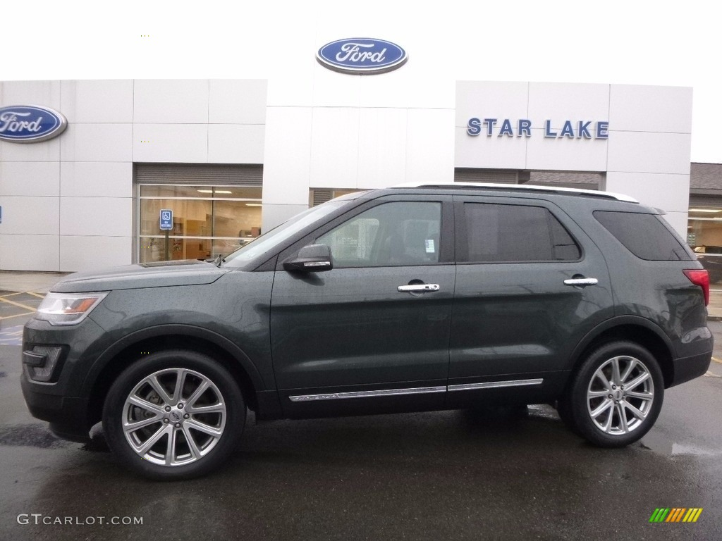 Guard Metallic Ford Explorer Limited 4wd