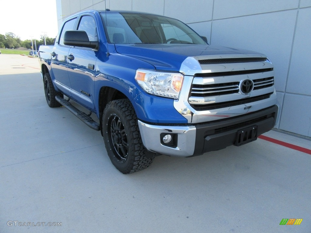 2017 blazing blue pearl toyota tundra sr5 tss off road crewmax 117265530 car. Black Bedroom Furniture Sets. Home Design Ideas