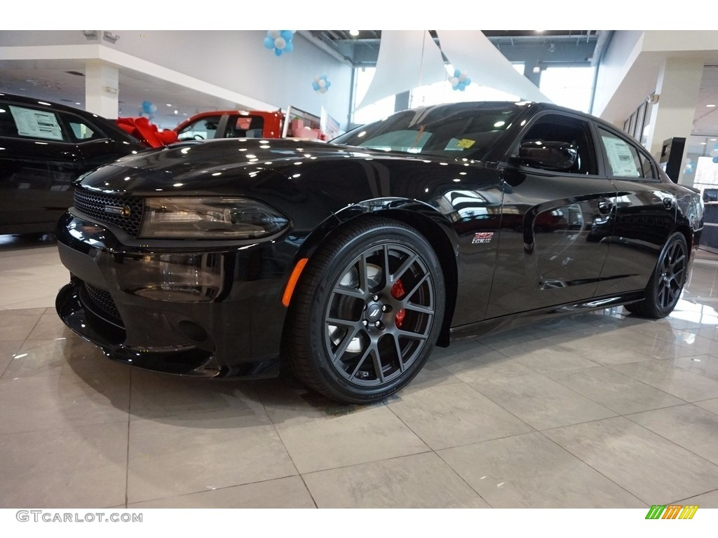 2017 Charger R T Pack Pitch Black Photo 1