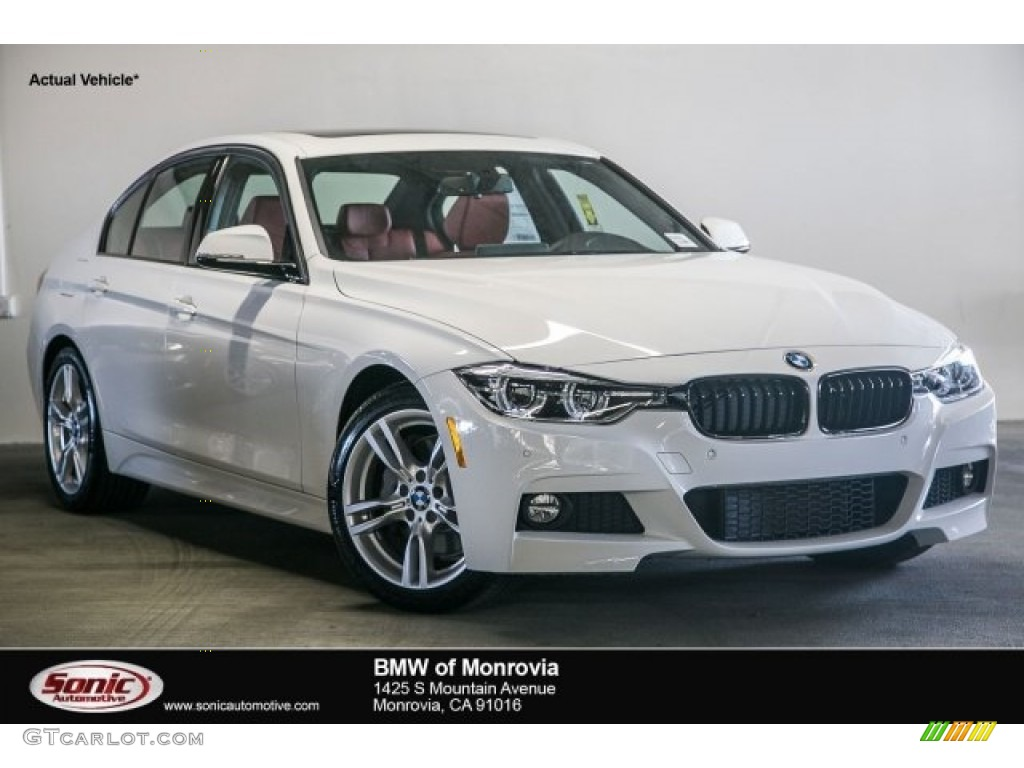 2017 Alpine White BMW 3 Series 330i Sedan 117265560