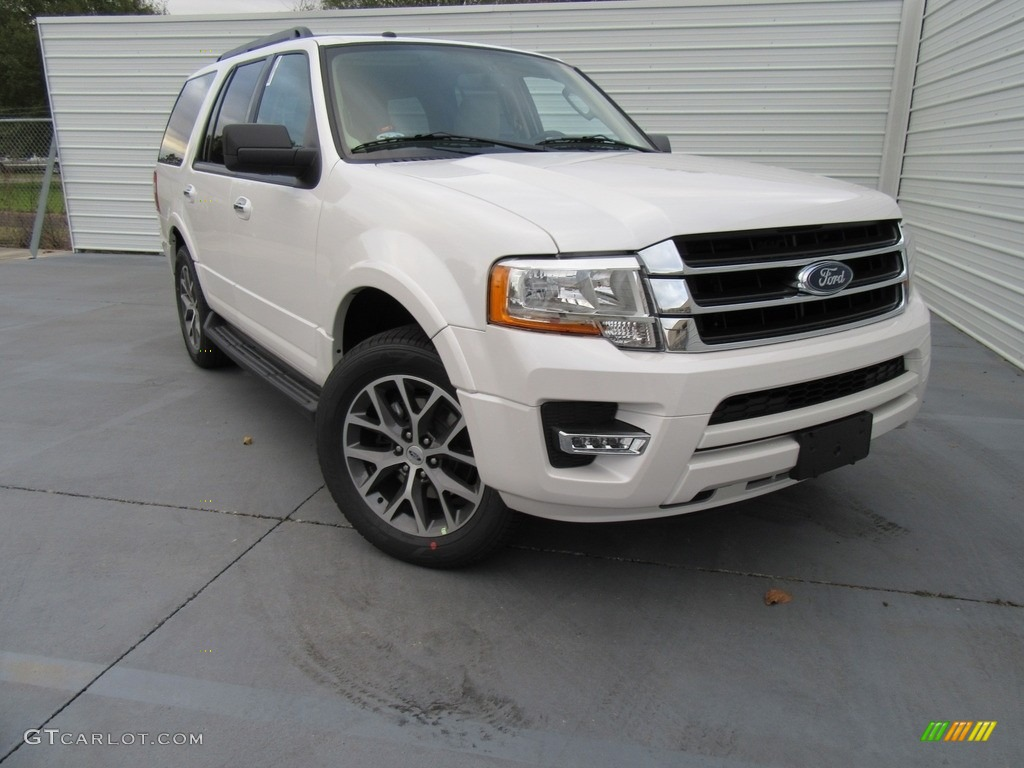 2017 White Platinum Ford Expedition Xlt 117265510 Car Color Galleries