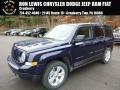 2017 True Blue Pearl Jeep Patriot Latitude 4x4 #117291148