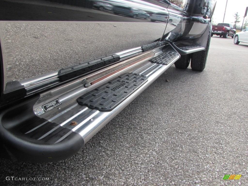 2008 Ram 3500 SLT Quad Cab 4x4 Dually - Brilliant Black Crystal Pearl / Medium Slate Gray photo #15